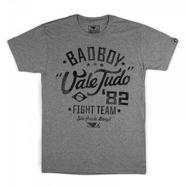 Футболка Bad Boy Vale Tudo Grey/Black