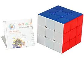 Фото 2 к товару Кубик Рубика 3х3 Shengshou Rainbow