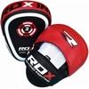 Лапы боксерские RDX Gel Focus Red - фото 1