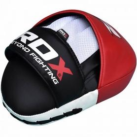 Фото 3 к товару Лапы боксерские RDX Gel Focus Red