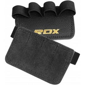 Фото 1 к товару Накладки для подтягивания RDX Leather Black