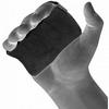 Накладки для подтягивания RDX Leather Black - фото 2