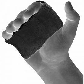 Фото 2 к товару Накладки для подтягивания RDX Leather Black