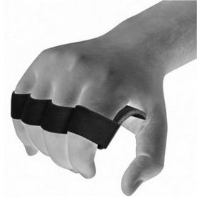 Фото 4 к товару Накладки для подтягивания RDX Leather Black