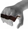 Накладки для подтягивания RDX Leather Brown - фото 5