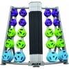 Стойка для грифов и дисков вертикальная Alex RK-BPS-20B - фото 1