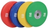 Диск олимпийский бамперный 25 кг Rising PL41B-25 крансый - 51мм - фото 1