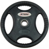 Диск олимпийский полиуретановый 10 кг Stein DB6061-10 с хватами - 51мм - фото 1
