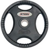 Диск олимпийский полиуретановый 15 кг Stein DB6061-15 с хватами - 51мм - фото 1
