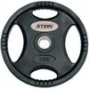 Диск олимпийский полиуретановый 2,5 кг Stein DB6061-2.5 с хватами - 51мм - фото 1