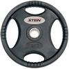 Диск олимпийский полиуретановый 5 кг Stein DB6061-5 с хватами - 51мм - фото 1