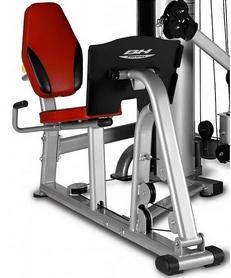 Фото 2 к товару Фитнес станция BH fitness TT Pro G + жим ногами (нагрузка 100кг)