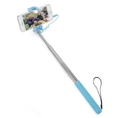 Монопод для селфи со шнуром UFT Nano-Stick Blue