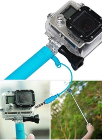 Фото 5 к товару Монопод для селфи со шнуром UFT Nano-Stick Blue