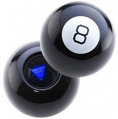 Шар предсказатель UFT Magic Ball 8 10 см