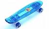 Скейтборд Penny Board Luminous PU SK-5357-1 (синий) - фото 1