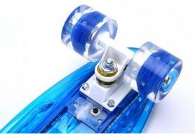 Фото 3 к товару Скейтборд Penny Board Luminous PU SK-5357-1 (синий)