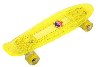 Скейтборд Penny Board Luminous PU SK-5357-2 (желтый)