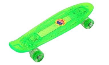 Пенни борд Penny Board Luminous PU SK-5357-3 (зеленый)