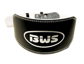 Пояс штангиста BWS-6PUBL широкий черный