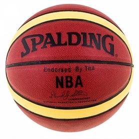 Мяч баскетбольный Spalding NBA Authentic David Spein полоса