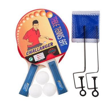 Набор для настольного тенниса МК Challenger (сетка, ракетки, мячи)