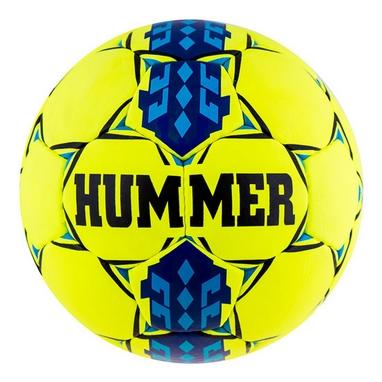 Мяч футбольный Hummer Cordly Yellow Sky/Blue