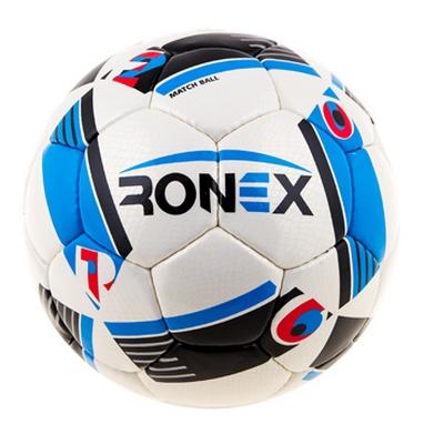 Мяч футбольный Ronex Cordly Snake синий/черный