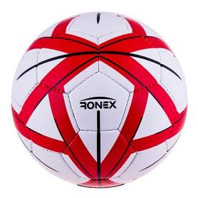 Мяч футбольный Ronex Grippy-Molten sky красный