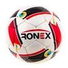 Мяч футбольный Ronex Cordly Snake красный/черный - фото 1