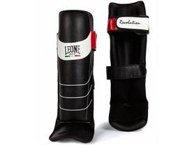 Фото 1 к товару Защита для ног (голень+стопа) Leone Revolution Black