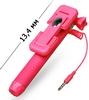 Монопод для селфи со встроенным Bluetooth UFT Nano-Stick Pink - фото 3