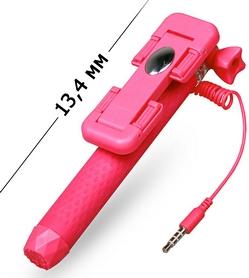Фото 3 к товару Монопод для селфи со встроенным Bluetooth UFT Nano-Stick Pink