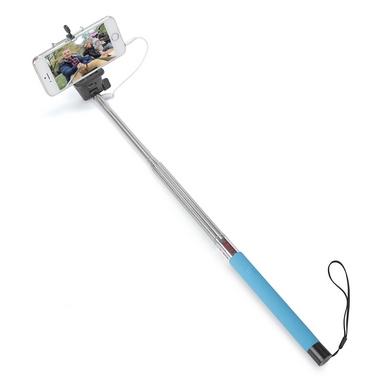 Монопод для селфи со шнуром UFT SS1 Light Blue
