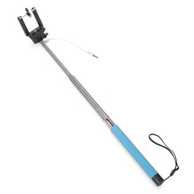 Фото 2 к товару Монопод для селфи со шнуром UFT SS1 Light Blue