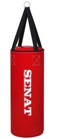 Мешок боксерский Senat Бочка (ПВХ) 70х28 см красный