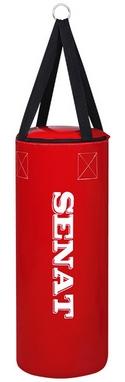 Мешок боксерский Senat (кожзам) 50х22 см красный