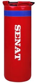 Мешок боксерский с кольцом Senat Uni (ПВХ) 80х29 см красный