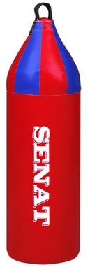 Мешок боксерский шлемовидный Senat (ПВХ) 70х21 см красный