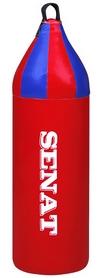Мешок боксерский шлемовидный Senat (кожзам) 70х21 см красный