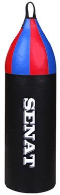 Мешок боксерский шлемовидный Senat (кожзам) 70х21 см черный