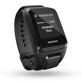 Часы спортивные TomTom Runner 2 GPS Watch Black/Anthracite (S)