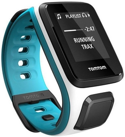 Часы спортивные TomTom Runner 2 GPS Watch White/Light Blue (S)