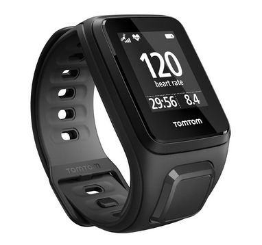 Часы спортивные TomTom Runner 2 Cardio + Music Black/Anthracite