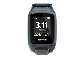 Фото 2 к товару Часы спортивные TomTom Runner 2 Cardio + Music Scu Blue/Sky Capt