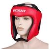 Шлем боксерский Senat красный - фото 1