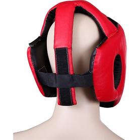 Фото 2 к товару Шлем для карате Senat красный