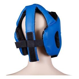 Фото 2 к товару Шлем для карате Senat синий