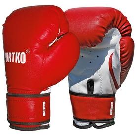 Перчатки боксерские Sportko PD-2R-12 12 Oz красные