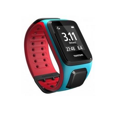 Часы спортивные TomTom Runner 2 Cardio Scuba Blue/Red (L)